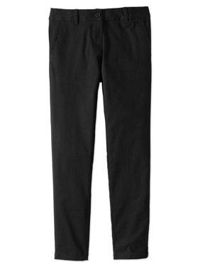 Girls School Uniform Stretch Twill Skinny Pants