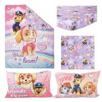Paw Patrol SKYE 4 pc Toddler Bed Set