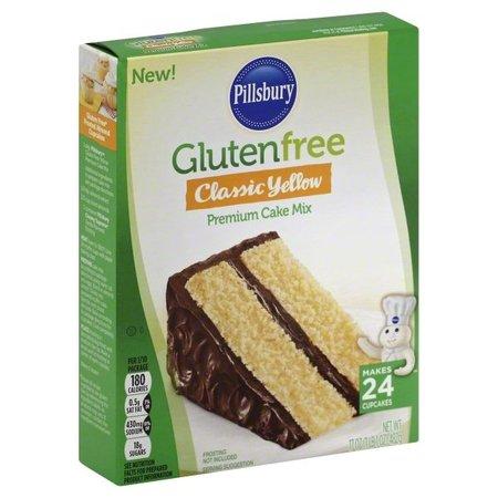 (3 Pack) Pillsbury Gluten Free Classic Yellow Cake Mix, (Orgran Gluten Free)