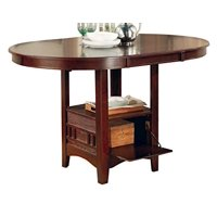 Coaster Company Lavon Counter Height Dining Table, Multiple Finishes