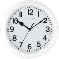 Deals on Mainstays 8.78-inch Basic Clock