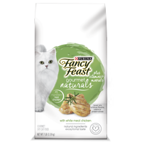 Fancy Feast Gourmet Naturals With White Meat Chicken Plus Vitamins & Minerals Dry Cat Food, 7 lb