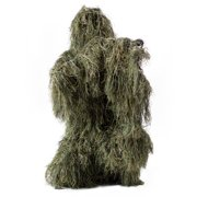 93ed81bed9490 New Ghillie Suit XL XXL Camo Woodland Camouflage Forest Hunting 4-Piece +  Bag