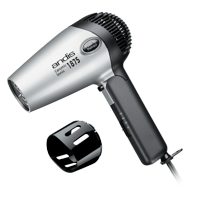 Andis Fold-N-Go Ceramic Ionic Dryer with 4 Air Speeds, 1875 Watts