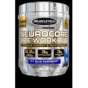 MuscleTech Pro Series Neurocore Pre Workout Powder, Icy Blue Raspberry, 33 Servings