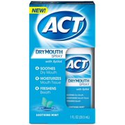 6 Pack - ACT Dry Mouth Spray, Soothing Mint 1 oz