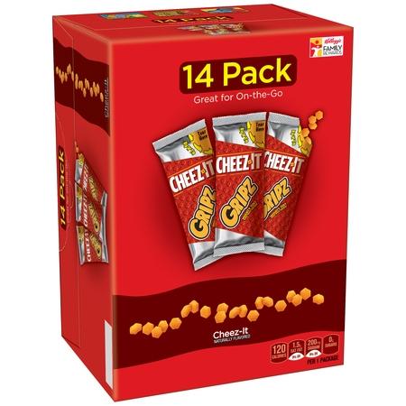 Cheez-It Gripz Baked Snack Crackers, 0.9 Oz., 14 Count - Top 20 Halloween Snacks