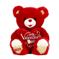 """Way To Celebrate 20"" Sweetheart Teddy 2019- Red """