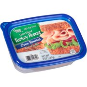 Great Value Thin Sliced Oven Roasted Turkey Breast, 8 Oz.