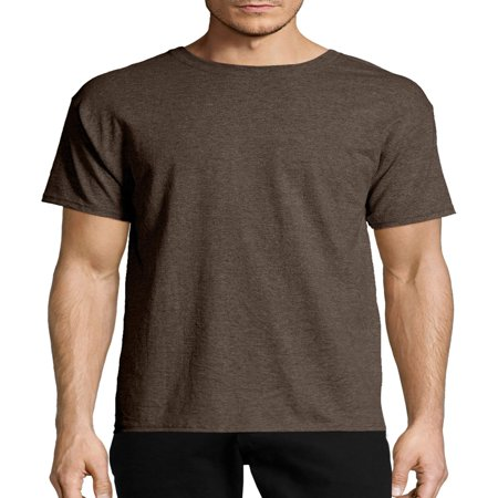 Hanes Big & tall men's ecosmart soft jersey fabric short sleeve - Duct Tape Gray T-shirt