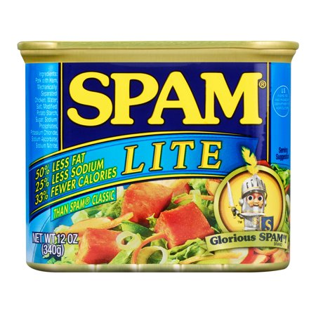 (2 Pack) Spam Lite, 12 Ounce Can