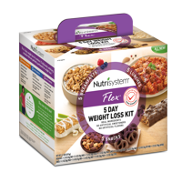 Nutrisystem Flex 5 Day Weight Loss Kit, 2.1 Lbs, 15 Meals