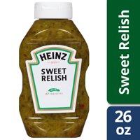 (2 Pack) Heinz Sweet Relish, 2 - 26 fl oz Bottles