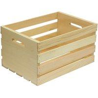 Houseworks Large Wood Storage Crate