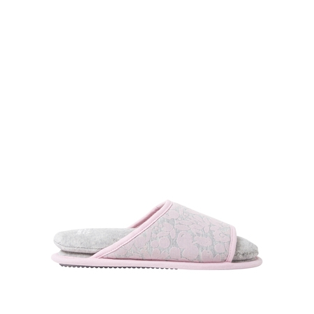 DF by Dearfoams Women's Cloud Step Slide Slippers