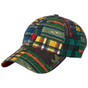 a875af9ec56 Polo Ralph Lauren Men s Classic Cotton Chino Cap - Plaid Patchwork