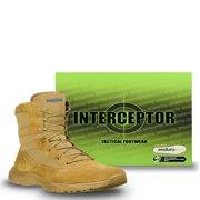 Interceptor Men's Frontier Tactical Work Boots, Coyote Brown
