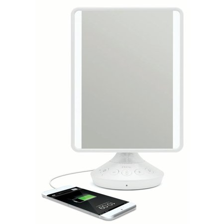 Ihome Reflect Led Vanity Mirror With Bluetooth Audio Walmart Com