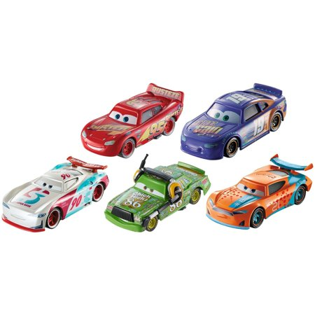 Disney/Pixar Cars 3 Collectible Character Vehicles 5-Pack