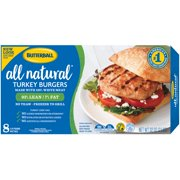 Butterball® All Natural Turkey Burgers 32 oz. Box