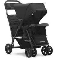 Joovy Caboose Too Ultralight Sit and Stand Tandem Stroller — Black