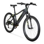 "Hyper E-ride Electric Hybrid Bike, 26"" Wheels, 36 Volt Battery, 20+ Mile Range"