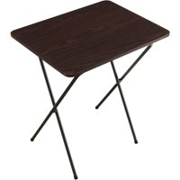 Folding Tray Table, Espresso