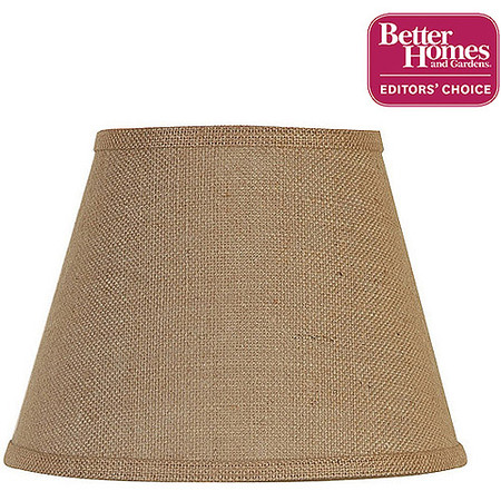 Better Homes and Gardens Accent Lamp Shade, Burlap (Lamp Shade Crochet Pattern)