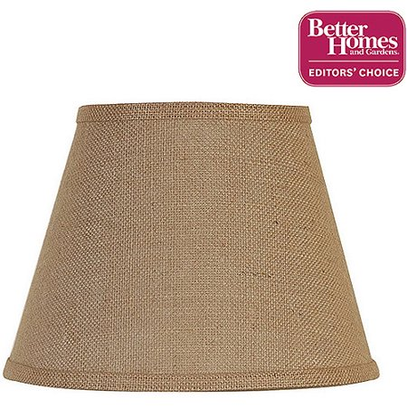 Gingham Lamp Shade (Better Homes and Gardens Accent Lamp Shade, Burlap )