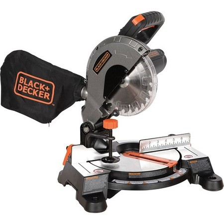 BLACK+DECKER 9 Amp 7-1/4-Inch Compound Miter Saw, (Type 1 Chop Saw)
