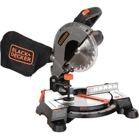 - BLACK+DECKER 9 Amp 7-1/4-Inch Compound Miter Saw, M1850BD