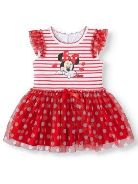 Minnie Mouse Tutu Bodysuit (Baby Girl)