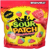 (3 Pack) Sour Patch Kids, Strawberry Soft and Chewy Candy, 10 Oz