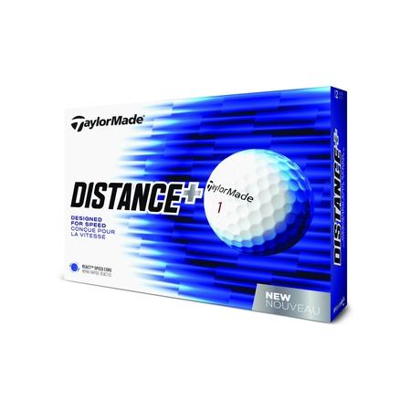TaylorMade D+ Golf Balls, 12 Pack