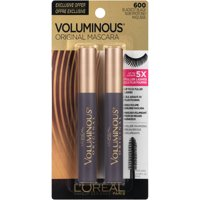 L'Oreal Paris Voluminous Original Mascara, Blackest Black, Pack of 2