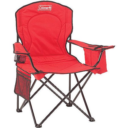 Coleman Oversized Quad Chair with Cooler Pouch (Insulated Cooler Chair)