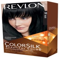 Revlon Colorsilk Permanent Haircolor, 10 Black 1 ea (Pack of 6)