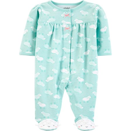 - Child of Mine by Carter's Button-up sleep n play pajama (baby girls)