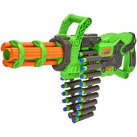 Adventure Force Scorpion Rotating Barrel Auto Gatling Blaster, Green