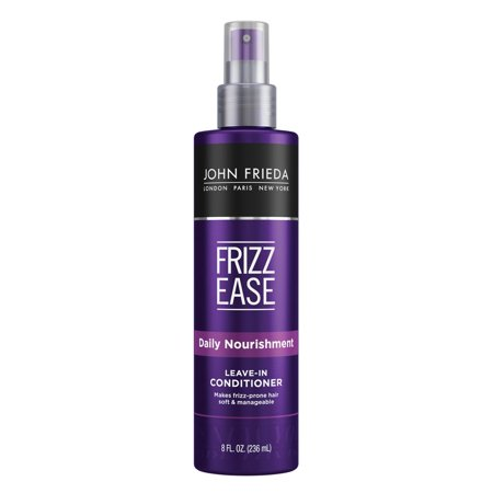 Frizz Ease Daily Nourishment Leave-in Conditioner, 8 Ounces (Alba Leave In Conditioner)
