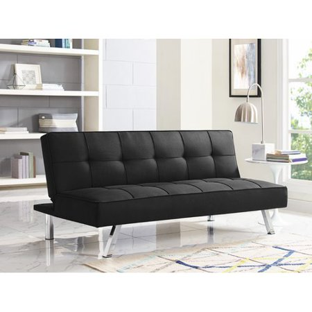 Serta Chelsea Convertible Sofa Futon, Multiple Colors (Malibu Futon)