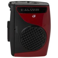 GPX Cassette Player with AM/FM Radio