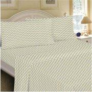 Mainstays 200 Thread Count Flat Bed Sheet Set, 1 Each