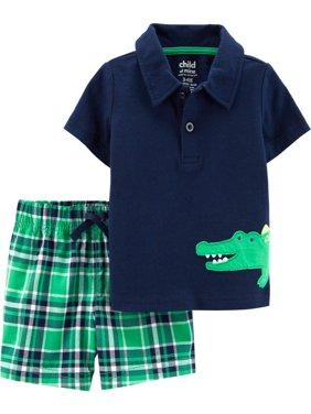 Short Sleeve T-Shirt and Shorts Set, 2 pc set (Baby Boys)