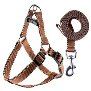 Nylon Pet Dog Harness Lead Leash Training Walking Traction Rope Perfect For Small Dog Doggy,