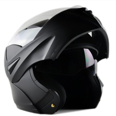 - ILM Motorcycle Flip up Modular Full Face Helmet Dual Visor DOT Approved 8 Colors Available