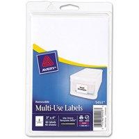 Avery Multipurpose Removable Rectangular Labels