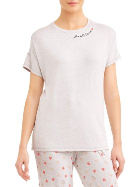 Secret Treasures Hacci Short Sleeve Top