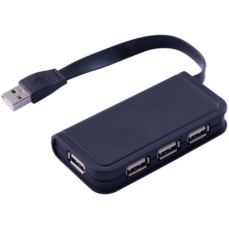 Onn High-Speed Transmission 4-Port 2.0 Technology Usb Hub, (Usb Wan Port)