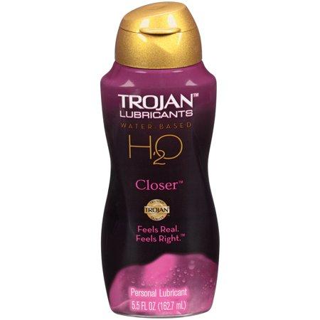 Trojan Lubricants H2O Closer Personal Lubricant, 5.5 FL OZ